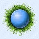 Blue ball Stock Photography