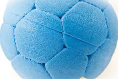 Blue ball close up Royalty Free Stock Photography