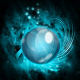 Blue Ball Stock Photography