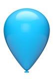 Blue balloon Royalty Free Stock Photos