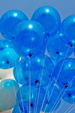 Blue balloon Stock Photography