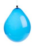 Blue balloon Stock Photos