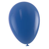 Blue Balloon. Isolated on white Royalty Free Stock Image