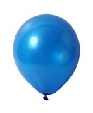 Blue balloon with path Royalty Free Stock Photography