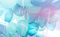 Free Blue Balloons Background Royalty Free Stock Photography - 110778607