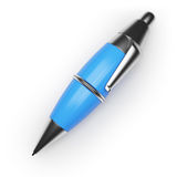 Blue ballpen Royalty Free Stock Photos