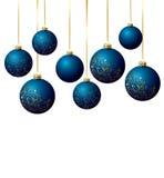 Blue balls Stock Photos