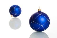 Blue balls Stock Image