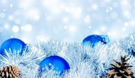 Blue balls Stock Images