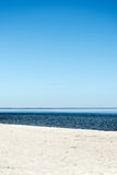 Blue Baltic sea. Royalty Free Stock Photography