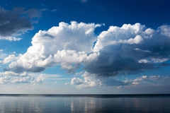 Blue Baltic sea. Royalty Free Stock Photo
