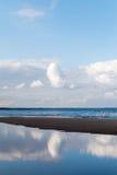 Blue Baltic sea. Stock Photos
