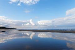 Blue Baltic sea. Stock Photography