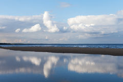 Blue Baltic sea. Stock Image