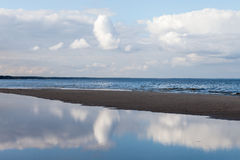 Blue Baltic sea. Royalty Free Stock Images