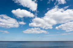 Blue Baltic sea. Royalty Free Stock Image