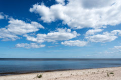 Blue Baltic sea. Stock Photos