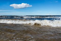 Blue Baltic sea. Stock Image