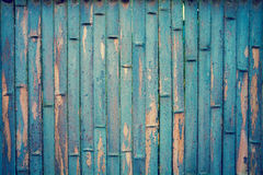 Blue bamboo background Stock Photography
