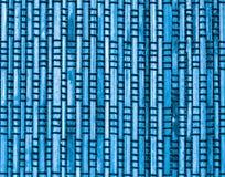 Blue Bamboo Background Stock Image