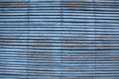 Blue Bamboo Shade - Background Royalty Free Stock Image