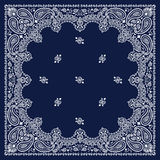 Blue Bandana Royalty Free Stock Photos