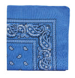 Blue bandanna Royalty Free Stock Images
