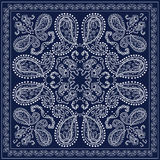 Blue bandanna Royalty Free Stock Photo