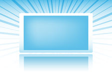 Blue banner. For titles and design backgrounds Royalty Free Stock Image