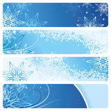 Blue Banners Royalty Free Stock Photos