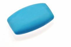 Blue bar soap Royalty Free Stock Images