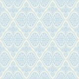 Blue baroque light pattern Stock Photography
