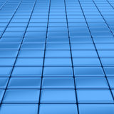 Blue bars Royalty Free Stock Photo