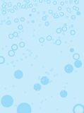 Blue base bubble. A bubble design for the use of a background or desktop royalty free illustration