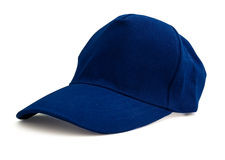 Blue baseball cap Stock Photos