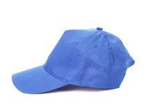 Blue  baseball cap Royalty Free Stock Photos