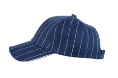 Blue Baseball Hat Isolated Stock Photography