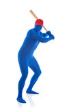 Blue: Baseball Player Royalty Free Stock Image