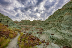 Blue Basin in John Day Fossil Beds Royalty Free Stock Image