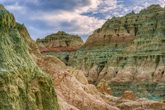 Blue Basin in John Day Fossil Beds Royalty Free Stock Photography