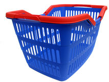 Blue basket Royalty Free Stock Images