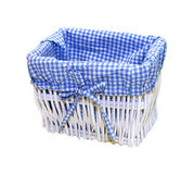 Blue basket Royalty Free Stock Photo