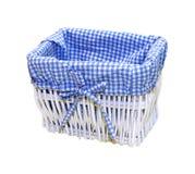 Blue basket Royalty Free Stock Photo