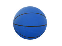 Blue  basketball Stock Photo
