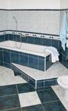 Blue Bath Stock Photography