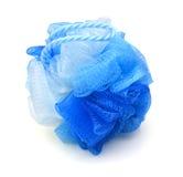 blue bath puff Stock Photos