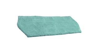 Blue bath rug isolated on white Royalty Free Stock Image