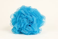 Blue Bath Scrubby Stock Images