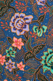 Blue Batik Royalty Free Stock Image