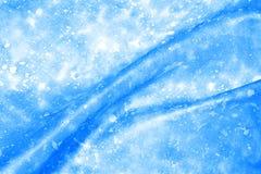 Blue batik Stock Images